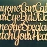 Anyone Can Catch Your Eye Love Quote