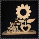 If Mothers Were Flowers Sign