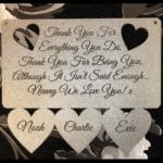 New Mothers Day Personalised Sign