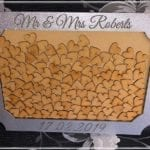 New Personalised Wedding Drop Box