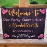 Personalised Sign Perfect For Any Occasion (ANY WORDING)