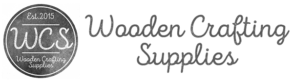 Wooden Crafting Supplies