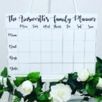 Personalised Printed Family Planner